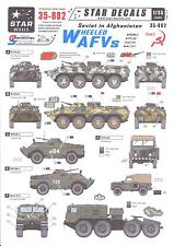 Star Decals 1/35 SOVIETS IN AFGHANISTAN Part 2 WHEELED AFVs