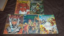 Elfquest - Issues 16-20 (Warp Graphics 1983) Comic (Book 4)