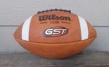NEW Wilson F1003 GST LEATHER Football NFHS High School NCAA  FREE SHIPPING