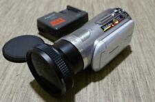 Panasonic HDC SD1 Pro 3CCD HD Camcorder Leica Dicomar VW-W4307H Wide angle lens