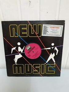 Disco Lp 33 Giri New Music Technotronic Limited Edition