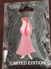 Disney Pin WDI Mog Ariel Little Mermaid Dress Series Pink Nightgown Pin Le 250