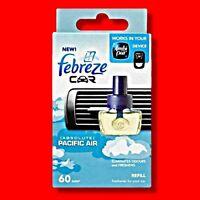 FEBREZE CAR VENT AIR FRESHENER REFILL PACIFIC AIR AMBI PUR COMPATIBLE