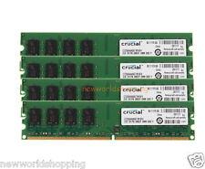 Crucial 8GB 4X 2GB PC2-5300U DDR2 667MHz 2RX8 240PIN DIMM Desktop Memory NON-ECC