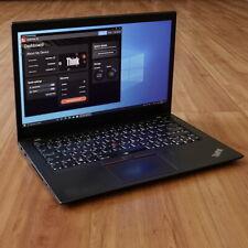 "Lenovo ThinkPad T470s Laptop i7-7600U 2.8GHz 12GB 14"" FHD Touch 1920x1080 256GB"