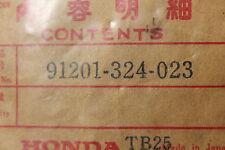 1976-2004 CB360 CJ360 NSR50 MB5 HONDA (HB5) NOS OEM 91201-324-023 OIL SEAL