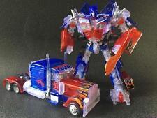 New Transformers Leader Class Transparent Optimus Prime Figure In Stock