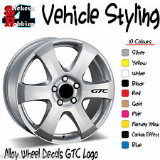 Vauxhall astra gtc roue alliage autocollant decal x6