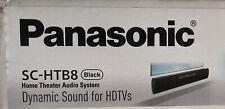 Panasonic Home Theatre Audio System  Speaker Black New