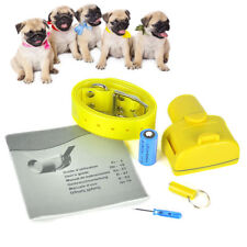 New Yellow Color Hunting Dog Collar Beeper Dog Training Collar Waterproof for Sm