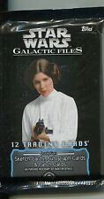 Star Wars Galactic Files Factory Sealed Hobby Packet / Pack