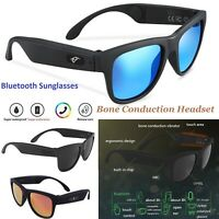 G1 Bone Conduction Headset SmartTouch Polarized Sunglasses Bluetooth CSR8635 New