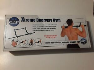 Xtreme Doorway Gym Chin Up Pull Up Bar Multi-Function Home Gym All In One