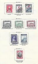 Turkey stamps 1929 MI 882-890  MLH/CANC  VF   CAT VALUE $660