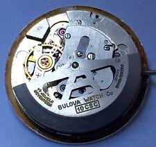 Bulova Caliber 10CSC Watch Movement~Complete With Good Balance, Running