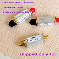 0.01 ~ 3GHz (9GHz) broadband microwave coaxial RF detector positive SMA 1pcs