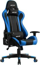 Computer Gaming Chair High-back Swivel Chairs Racing Style Leather Office Gamer