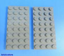 LEGO ® Technic NR - 4211061/GRIGIO SCURO PIASTRA 4x8/2 pezzi