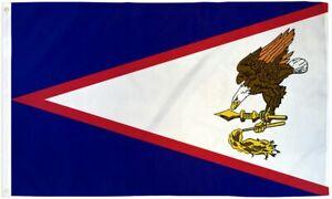 """""""AMERICAN SAMOA"""" 3x5 ft flag polyester"""