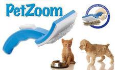 New PetZoom Pet Cat Dog Grooming Self Cleaning Brush Comb Hair Fur Shedding Tool