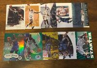 L1984 - KEVIN GARNETT - LOT OF 10 BASKETBALL CARDS - TIMBERWOLVES