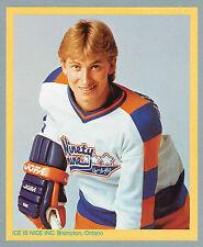 """1985 Ice Is Nice Wayne Gretzky Box Label, 6 1/2""""x 8"""", Mint"""