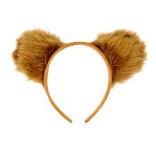 Haarreifen Süße Teddy Bär Ohren Braun Fasching Karneval Party Kostüm