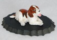 Vintage Porcelain Ceramic Cocker Spaniel Dog Figurine