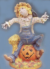 Ceramic Bisque Ready to Paint Vintage Large Scarecrow includes clipin light