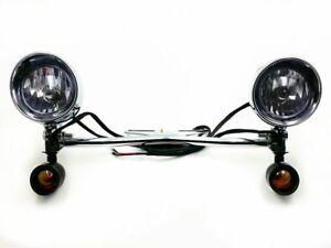 Driving Passing Turn Signal Spot light For Harley Honda Kawasaki Suzuki Yamaha