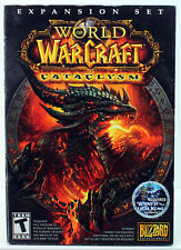 World of Warcraft: Cataclysm, Box (PC/MAC CD-ROM, 2010) Very Good, - Free S&H