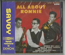 "RONNIE BALL ""All About Ronnie"" Japan CD 1992 Nippon NEU/OVP/NEW - Remastered"