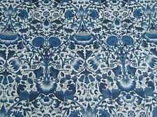 "Liberty of London Tana Lawn Fabric Design ""lodden"" 2.4 METRES (240 cm) Navy"