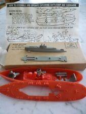 1950's Bazooka Submarine Premium In Original Box
