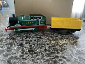 Thomas Green LBSC Adventure Begins Tomy Plarail- train and troublesome truck