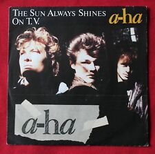 A-ha, the sun always shines on TV / Dirftwood, SP - 45 tours import