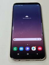 New listing Samsung Galaxy S8+ Sm-G955U, 64Gb, Silver, Unlocked, Glass Cracked : Aa127