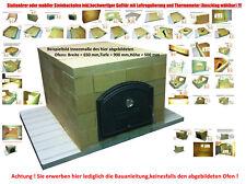 Bauanleitung Holzbackofen Steinbackofen Pizzaofen