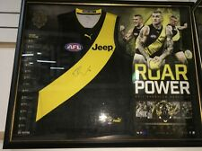 DUSTIN MARTIN 2017 AFL BROWNLOW MEDALLIST SIGNED FRAMED RICHMOND TIGERS JUMPER