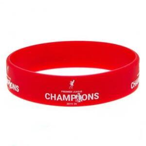 Liverpool FC Premier League Champions Red Silicone Wristband LFC Xmas Birthday