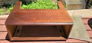 FISHER F30 ORIGINAL WOOD CABINET For 400 500/B/C 800C TUBE RECEIVERS