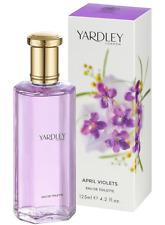 APRIL VIOLETS By Yardley London  EAU DE TOILETTE SPRAY 4.2oz For Women Brand New