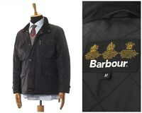 Mens BARBOUR Sapper Wax Waxed Field Jacket Coat Black Size M