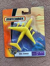 Matchbox Sky Busters DHL transport cargo plane brand new in packaging