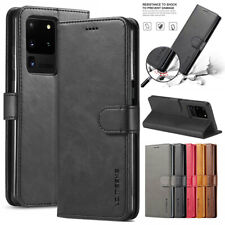 For Samsung S21+ S20 FE Ultra S10 Plus Flip Leather Wallet Card Stand Cover Case