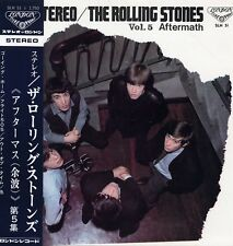 "ROLLING STONES ""VOL.5 AFTERMATH"" ORIG JAPAN 1966 OBI/INSERT M-/EX"
