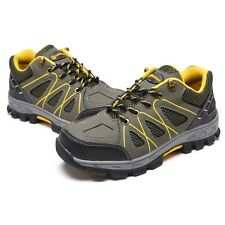 New Men's Warm Safety Shoes Steel Toe Prevent Puncture Work Boots Slip Resistant