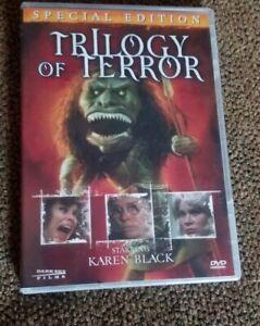 Trilogy of Terror (1974) DVD Zuni Fetish Doll Karen Black Dark Sky Films Horror