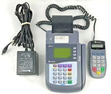Verifone Omni 3200 Credit Card Terminal and Printer & Pinpad 1000Se Softpay