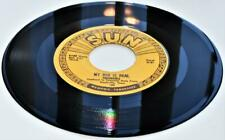 The Prisonaires My God Is Real / Softly And Tenderly 1953 Sun 189 1978 RE 45rpm